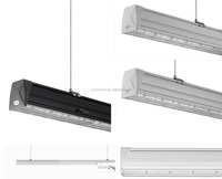 Track Rail Mounting Aluminum LED Linear Light as Traditional Fluorescent Tube Replacement
