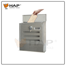 2017 New design top quality stainless steel letter box postbox