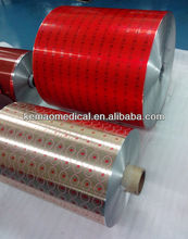pharmaceutical packaging material aluminum foil printed 20/25/30micron medicine blister pack