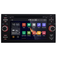 Double din Android 4.4.4 Quad-Core 7 inch car dvd player For Ford Mondeo Transit Galaxy car stere radio gps