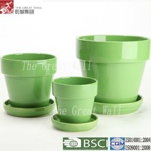 7 inch cheap ceramic indoor flower pots