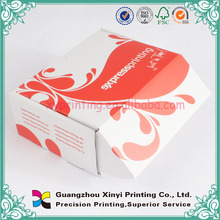 Cheap white colored custom mailers box