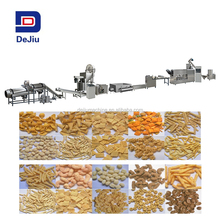 2017 Automatic pellets fried snacks food production line with different shapes