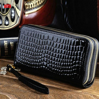 taobao alibaba shoes and bags designer purse ladies fancy hand purse,crocodile skin wallet