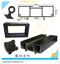 new style double sides led screen frame aluminum profile for led signs