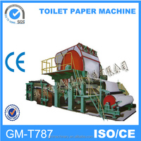 New Condition and CE Certification Small Toilet Paper Making Machine ,787mm small model toilet paper machine