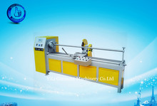 fabric electric metal adhesive tape slitting strip cutter cutting creaser machine price