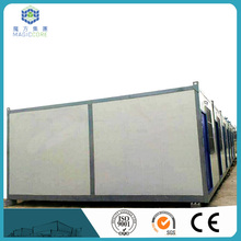 export prefabricated homes foldable container house modern prefab house t style&k style for sell in china