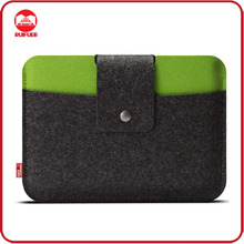Manufacturer Wholesale Universal Travel Pouch Bag Wool Felt Laptop Sleeve Case For 10 11 13 14 15 Macbook ipad 9.7 HP Dell