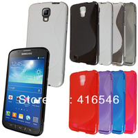 S Line Soft TPU Gel Case for Samsung Galaxy S4 Active i537 i9295