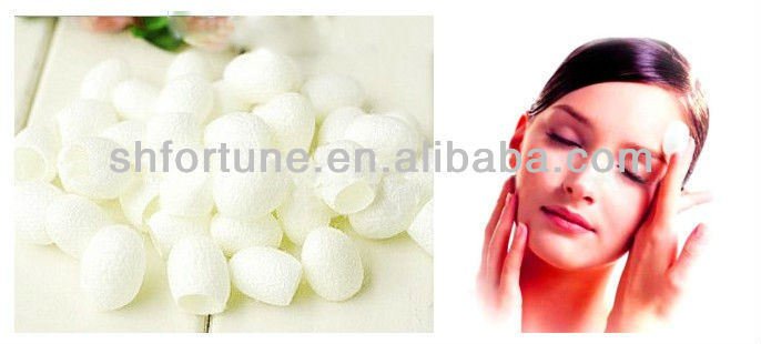 Whitening cream,Eco-friendly Fresh Natural Silk Beauty Cocoons for facial scrub.