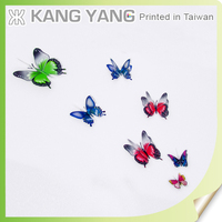 New arrival custom color baby room wall stickers butterfly