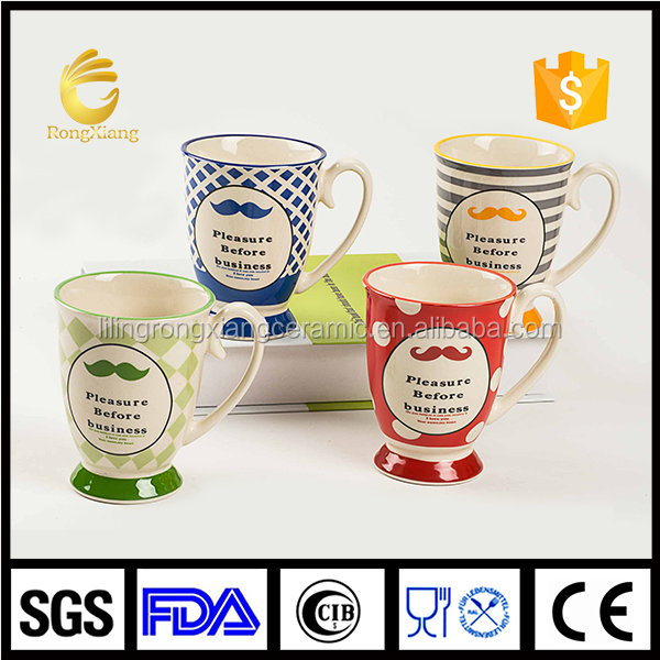 Factory direct wholesale ceramic nice glaze mug