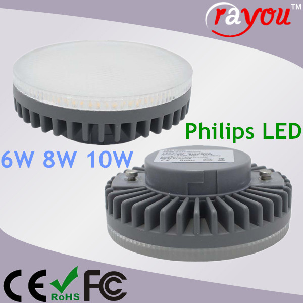 6W 8W GX53 spot, 150 degree gx53 led spot light 220v, led cabinet gx53 for inner lighting