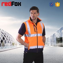 wholesale body warmer reflective winter safety vest