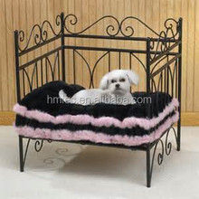 luxury pet bed for dog and cat, metal frame dog bed , princess bed for pet