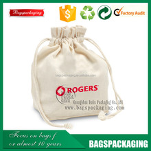 custom wholesale drawstring cotton bags