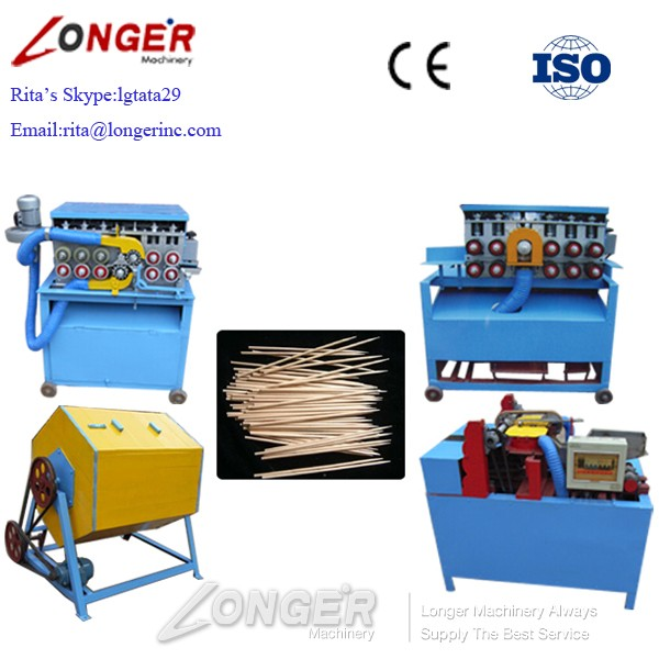High Efficiency Toothpick/Wooden Skewer/Incense Stick Making Machine