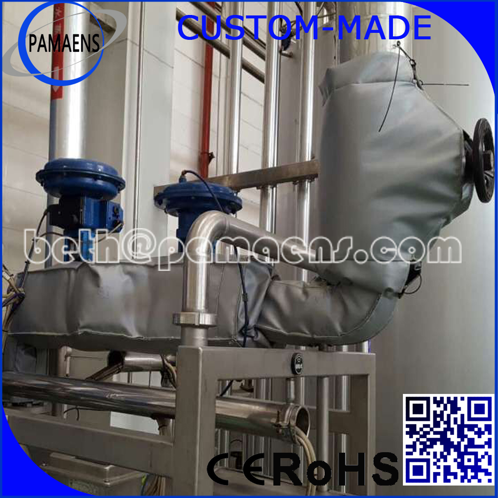 High Quality Removable and Reusable Pipe Valve Insulation Wrap