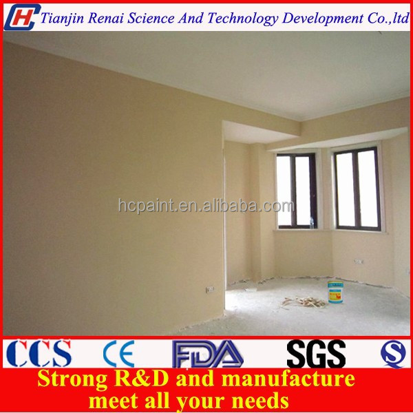 Wall coating flat latex paint