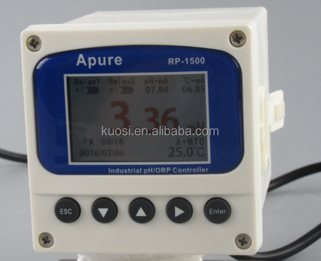 RS485 and 4-20mA low price digital ph orp meter