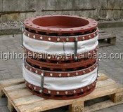 pipe connector fabric Expansion Joint silica, teflon, fiberglass