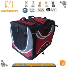 Fashionable pet travelling dog carrier