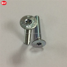 44MM class 10.9 Trivalent Zinc plated torx bolt M8