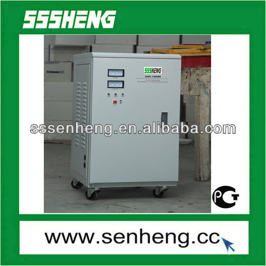 SSVC Series Vertical Servo Type AC Voltage Regulator/Voltage Stabilizer/AVR (SVC-15000VA)