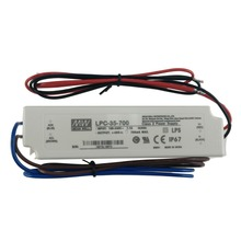 Meanwell 35W 1400mA LPC-35-1400 plastic case slim constant current led driver