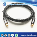 Digital audio Optical Toslink,top quality metal shell type,TOSLINK TO TOSLINK