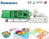 Modern fashion colorful ABS plastic fruit tray injection molding machine