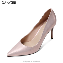 H0728 hot selling pointed toe stiletto heel handmade shoe