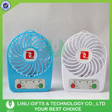 Top Quality Mini Portable USB Rechargeable Fan With Battery