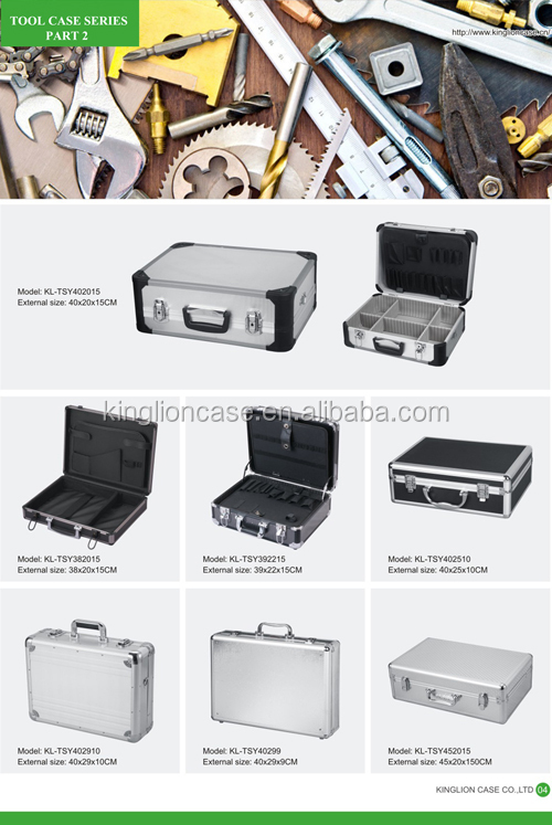 KINGLION hot sell silver tool carrying case