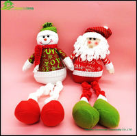 Christmas Elf animal toy plush toys stuffed soft xmas fairy doll christmas decoration sale christmas toy decorated tree BGSY1054