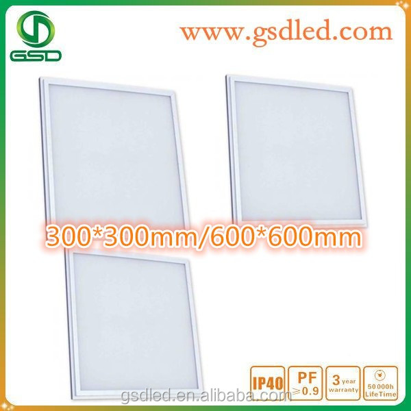 wholesale 30*30cm hanging exterior wall panel light led source guide panel