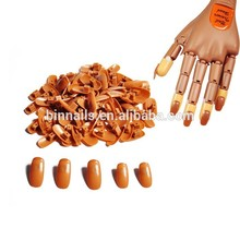 5 Size False Nails Training Practice Hands PP Material Original Accesorry for Practice Trainer Nail Tips