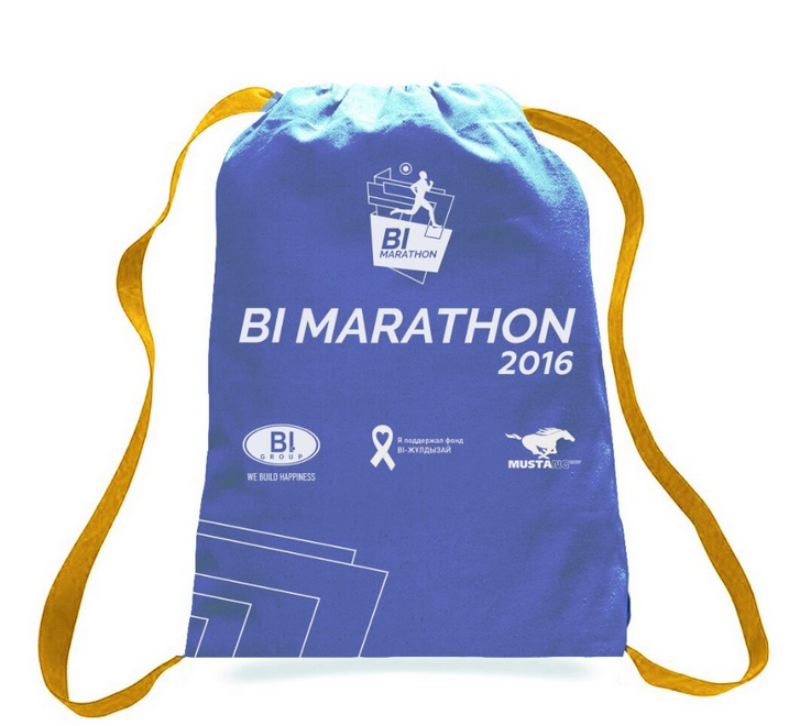 Hot customized Marathon Sports Drawstring Bag With Front PVC Pocket Sport Shoes Bags Nylon/Polyester