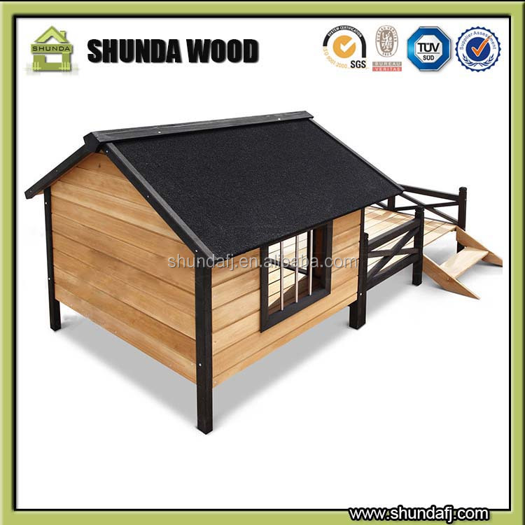 SDD010 Custom made dog kennels for decorative dog houses with eco-friendly WPC material