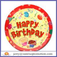 Wholesale Birthday Plate with Custom Logo