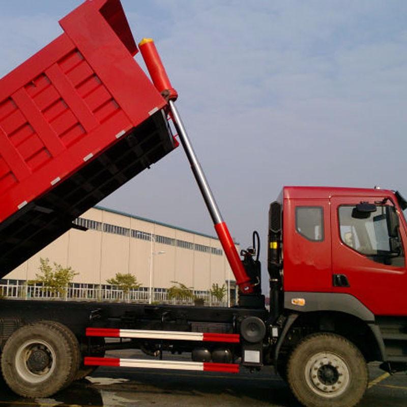 Hydraulic Dump Cylinders : Mulistage dump druck telescopic hydraulic cylinder for