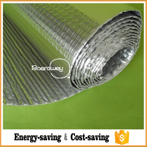 Radiant bubble insulation vapor barrier/Reflective radiant foil heat barrier insulation material/Radiant barrier insulation