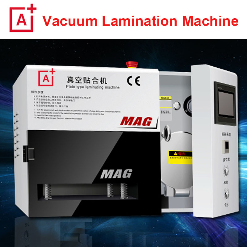 A+ KO MAG OCA film laminating machine 5 in lamination machine bubble remove vacuum lcd repair automatic oca laminator refurbish