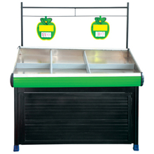CE certificate supermarket fruit vegetable display shelf