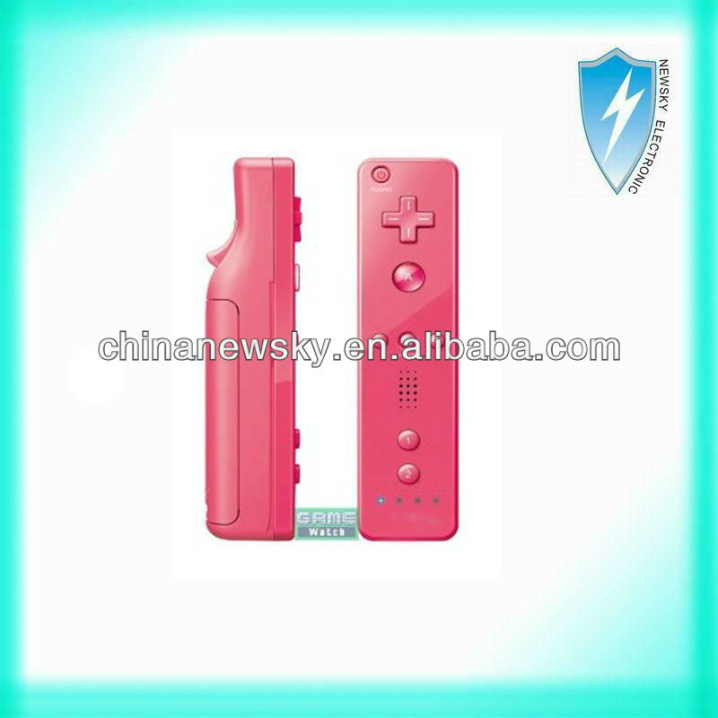 alibaba china remote controller built-in motion plus for wii with logo