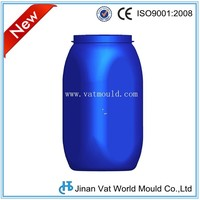 Direct Manufacturer Custom-made plastic chemical drum,high quality ibc tank blow molds