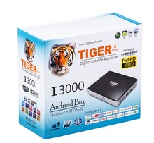 Full HD Tiger Star Digital Satellite Receiver I3000 Dvb-s2 Android TV Box