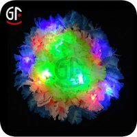 Battery Powered Flashing Led Glow In The Dark Hawaii Craft Led Lei