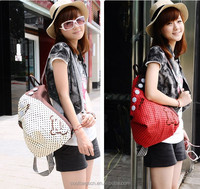 2014 Guangzhou novely korean styles daily bags fashion backpack for girls